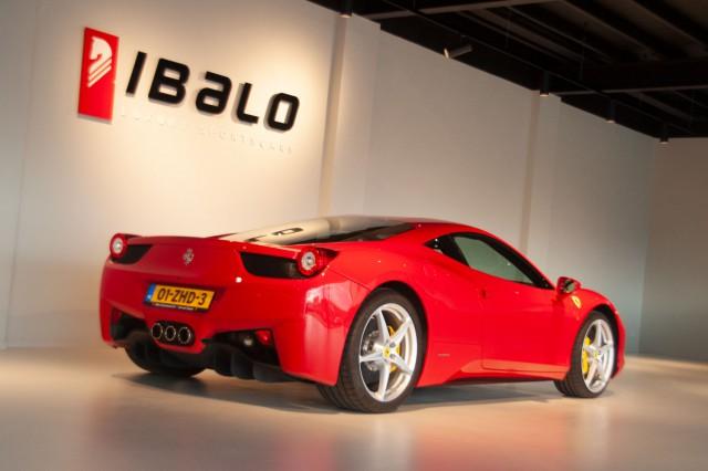 Ferrari achterkant